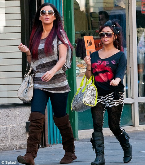 Snooki 'pregnant': Jersey Shore star 'three months along'